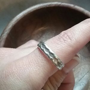 Sterling silver ring size 7 or 8?